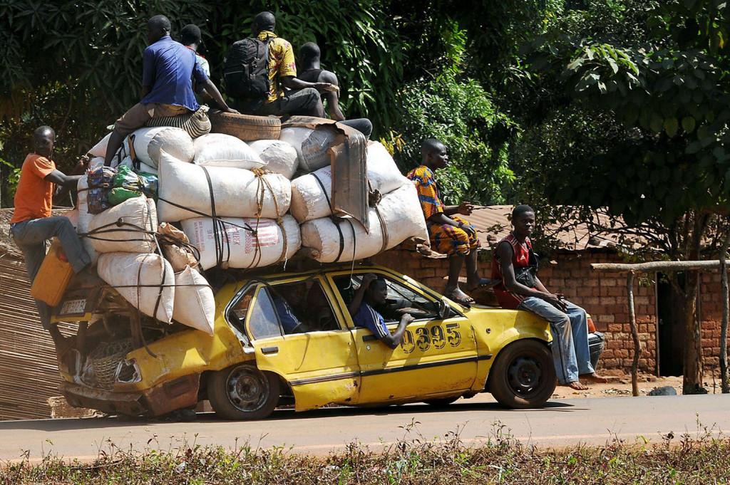 Overloaded-transport